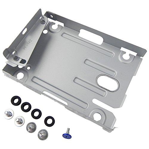 ToKa-Versand® - PlayStation 3 PS3 Super Slim Montagehalterung HDD Halterung Einbau Festplatte Rahmen für Festplattenlaufwerk CECH-400x Series + Schrauben + Gummihalter