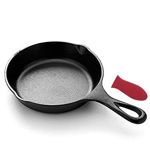 1yess 3 Teile/Satz Gusseisen Bratpfanne Antihaft Pfanne Kitchen Brat Pot Frühstück Pfanne Omelett Pfannkuchen Topf Induktion Kochen Kochgeschirr (Color : S)