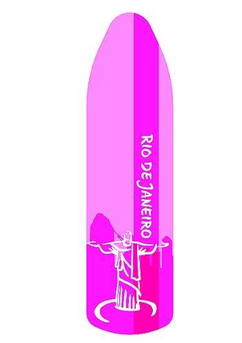 Leifheit - Copriasse da stiro 'Rio de Janeiro', rosa Universale fino ad una dimensione massima di 140x45cm