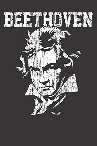 Notebook: Beethoven Ludwig Van Classic Music Vintage Dot Grid Dotted 6x9 120...