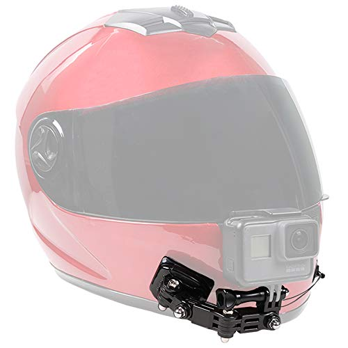 SUREWO Motorcycle Helmet Chin Mount Kits Compatible with GoPro Hero 9 8 7 6 5 Black,DJI Osmo Action/AKASO/Campark/YI Action Camera,Insta360 Camera and More