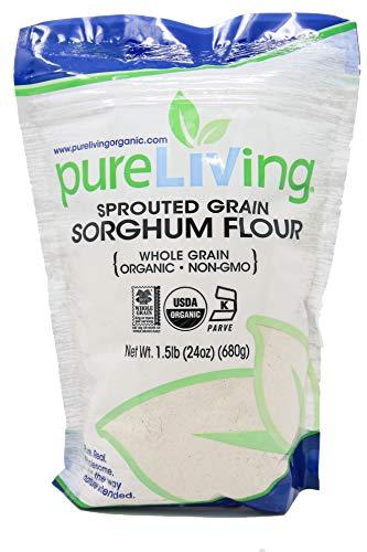 Pure Living Liv Organic Sprouted Sorghum Flour - 24 oz
