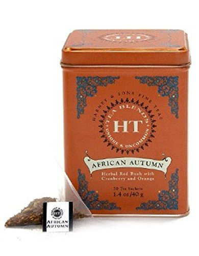 Harney & Sons - Infusión Rooibos Lata 20 Pirámides De Seda Ht African Autumn Rooibos