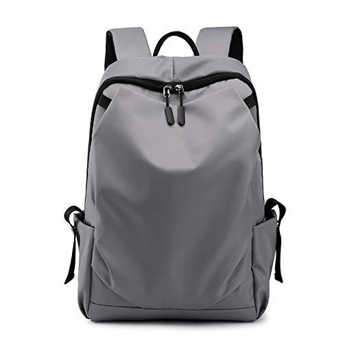 Laptop Backpack Large Computer Backpackwith USB Charging Port Water-Repellent School Travel Backpack for Women Men - grey - 11.81x6.29x17.32