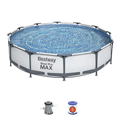 Bestway 12FT BW56416 Steel Pro Max Swimming Pool with Filter Pump