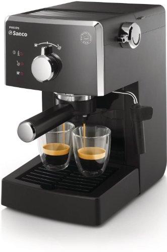 Saeco Poemia - Cafetera automática, 1 l, 950 W, color negro