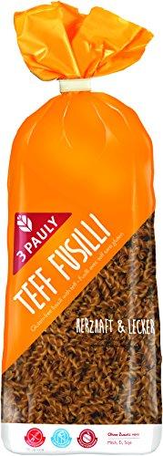 3 Pauly Teff Spiralen ohne Ei - glutenfrei, 4er Pack (4 x 500 g)