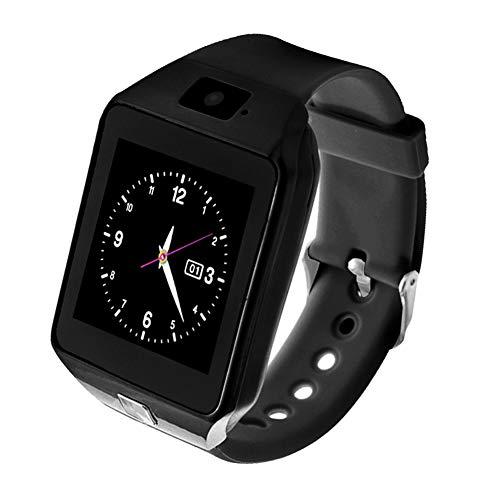 Smart Watch de los niños, Smart Watch de la Llamada telefónica de Bluetooth, con la cámara para los Estudiantes electrónicos de los niños(Black)