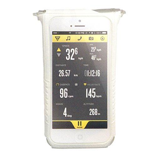 Topeak Fahrt Hülle DryBag Handytasche für iPhone 5/5s/5c, weiß, TT9834W