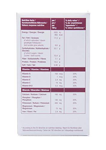 Notverpflegung NRG-5, Karton mit 24 Packungen a 500 g, Notration - 4