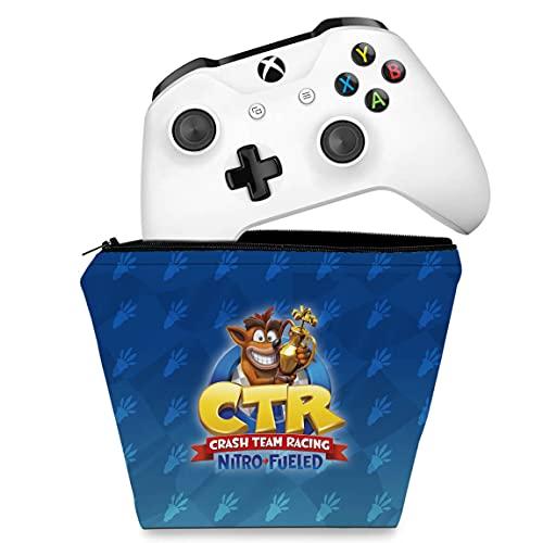 Capa Xbox One Controle Case - Crash Team Racing Ctr