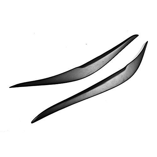 TGFOF Auto Scheinwerfer Augenbrauen Augenlider Rahmen Licht Abdeckung Trim Aufkleber für F22 F23 F87 M2 Serie 2-Türer 2014–2018