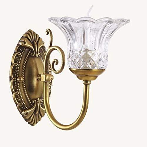 De enige goede kwaliteit Decoratie Vintage Landelijke Stijl Wandlamp Woonkamer Eetkamer Decoratie Lampen Corridor Aisle Wandverlichting Metalen Wandlamp Villa