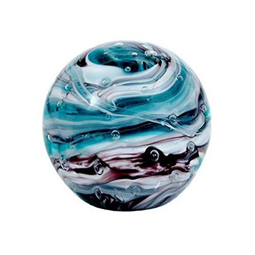 Traumkugel ca. 6,5-7cm Glaskugel Briefbeschwerer Wunschkugel Kugel aus Glas