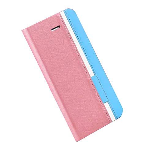 YZKJ Cover für Ulefone Power 6 Hülle, Flip PU Ledertasche Handyhülle Magnetknopf Wallet Tasche Standfunktion Schutzhülle Hülle mit Kartenfach & Ständer für Ulefone Power 6 (6.3