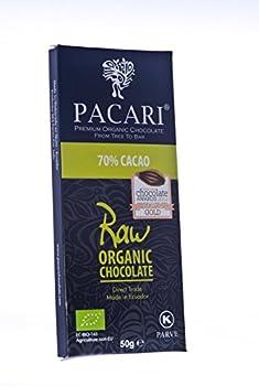 Pacari Ecuadorian Organic Chocolate Raw 70%