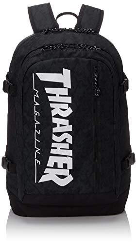 スケーター スラッシャー スラッシャー リュック THRASHER バックパック Benchmark Backpack リュックサック 30L B4 通学リュック 通学 高校生 部活 旅行 メンズ レディース THR-101 パイソンxホワイト
