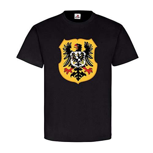 Kaiserreich Wappen Deutschland Adler Preußen Kaiser Wilhelm Vaterland #25166, Größe:L, Farbe:Schwarz
