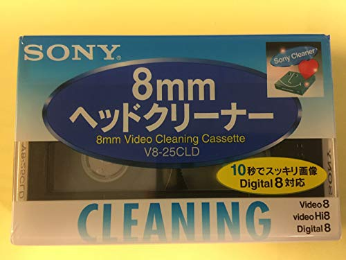 commercial Cleaning cartridge for Sony V8-6CLD 8mm / Hi8 / Digital8 camcorder hi8 digital camcorders