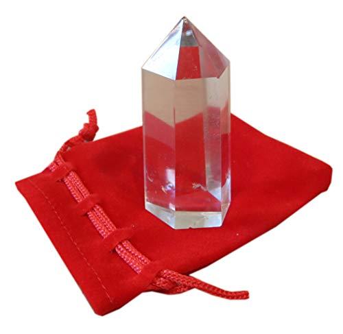 Kaltner Präsente Geschenkidee - Spitze aus Bergkristall 60 mm hoch