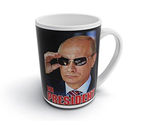 caprica91 MR President Russland Putin Tasse Kaffeebecher Fototasse Kaffee Tasse - T022