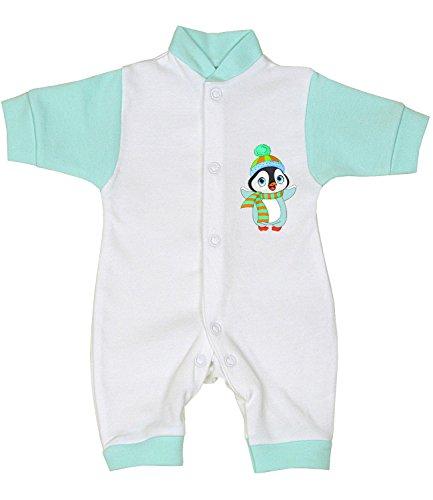 Babyprem Baby Frühchen Kleidung Strampler Overall Mädchen Jungen 32-44cm Pinguin P2