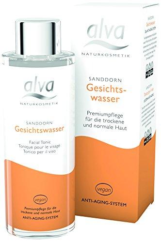 alva naturkosmetik Sanddorn Gesichtwasser, 1er Pack (1 x 100 ml)