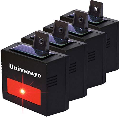 Univerayo Deer Repellent Devices Predator Control Light Coyote Deterrent Solar Repel Skunk Fox...
