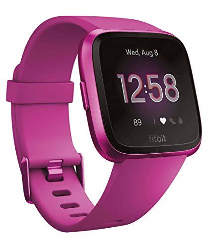 Fitbit Gesundheits- und Fitness-Smartwatch Versa Lite - brombeer brombeer (317) 000