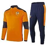 caijj New Men's Football Uniform Gift Football Club Centroambre Capacitación de Fútbol de Manga Larga Desgaste de Fútbol Fábrico Traje Sportswear Traje Fútbol Hoodie -453-Pequeño