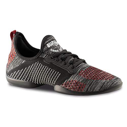Anna Kern Herren Dance Sneakers 4015 Pureflex - Größe: UK 8,5