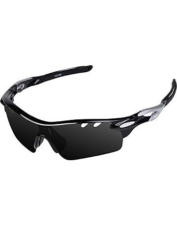 e80f435ce755aa 数量限定タイムセール. Ewin スポーツサングラス 偏光レンズ UV400カット 交換レンズ3枚 軽量 ユニセックス 紫外線防止