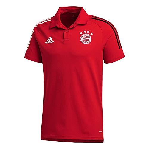 adidas Performance FC Bayern München Poloshirt Herren rot/schwarz, S