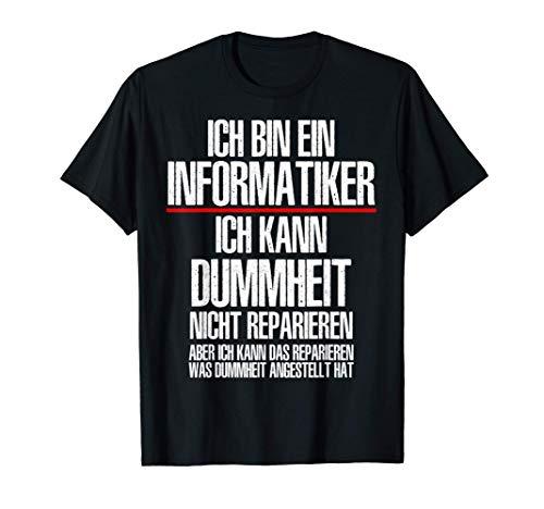 Herren Informatiker Humor lustiger Spruch IT-Berater T-Shirt