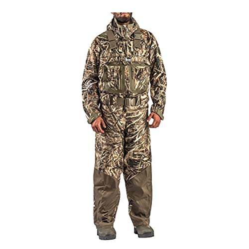 Banded RedZone Elite 2.0 Insulated Breathable Bootfoot Chest Waders, 1,600-gram, Realtree Max-5, 14D (Medium)