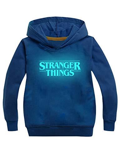 KIACIYA Sudadera Stranger Things Niños, Sudadera Stranger
