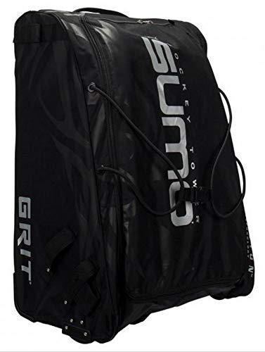 Grit Tasche Sumo GT4 Goalie Hockey Tower Senior Eishockey Rolltasche Farbe Schwarz