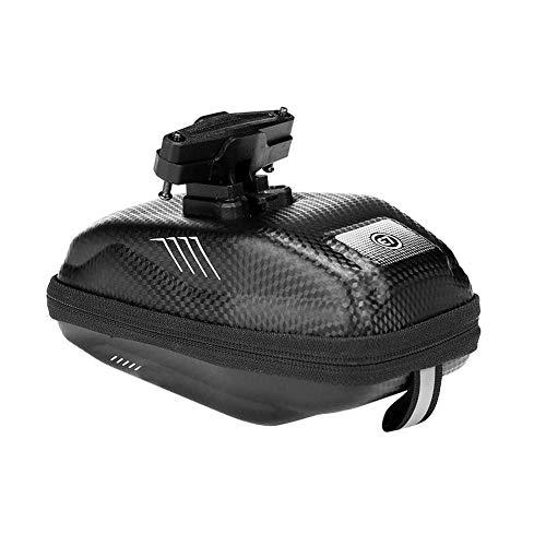 DHYED Bolsa para sillín de bicicleta, reflectante, impermeable, para bicicleta de montaña