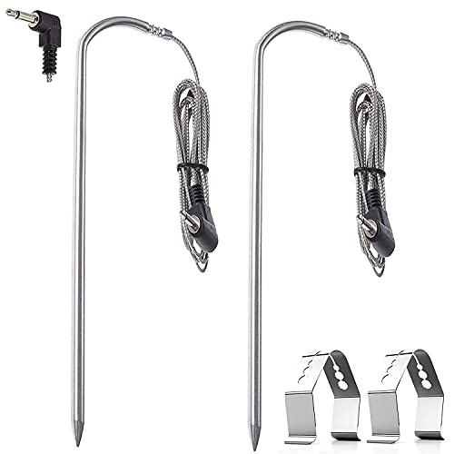 Price comparison product image Replacement for Pit Boss Meat Probe Pellet Grills and Pellet Smokers Parts ,  2 Pack Waterproof BBQ Temperature Probe
