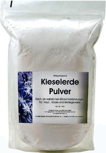Natusat Kieselerde Pulver 1kg - Ergänzungsfutter für Pferde, Fellwechsel, Pferdehaare