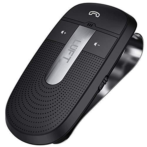 LUFT(ルフト) ハンズフリー Bluetooth 4.1 携帯電話 車載 ワイヤレススピーカー 高音質 日本語音声 ボイスアンサー 自動電源機能 スピーカーフォン LUFT-HDF