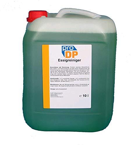 10l Pro DP Profi Essigreiniger Essig Universalreiniger Sanitärreiniger Konzentrat phosphatfrei - Made in Germany