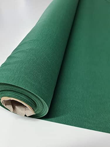 TELA LONETA POR METROS Loneta lisa COLOR Verde Pino [2.80m de ANCHO] Perfecta para tapizar o realizar manualidades