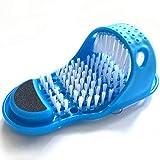 Chaussons de massage Pantoufles pour brosses à pieds, Brosse nettoyante pour les pieds avec laveur de pieds avec ventouse pour le massage des spas de plancher de douche, Pantoufle pour le pied de ne