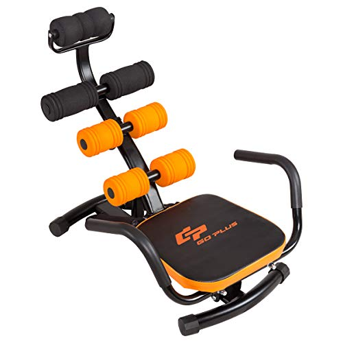 Goplus Core & Abdominal Trainers, Twister Trainer Ab Exercise Machine Height Adjustable...