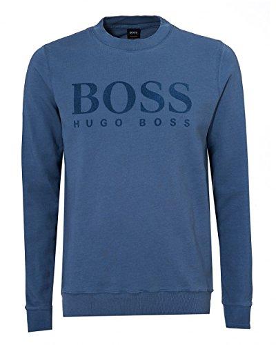 BOSS Hugo Orange WLAN - Felpa da uomo, taglia XL, colore: azzurro cielo