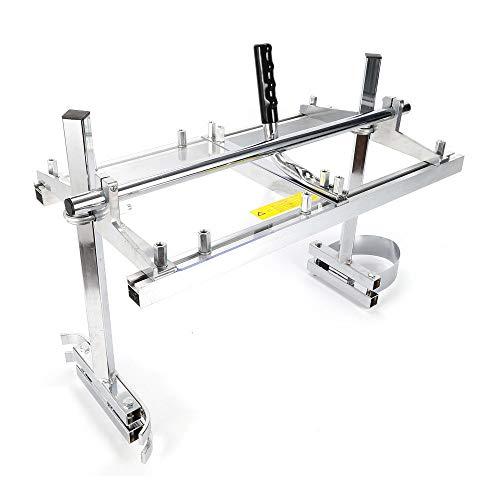 Chainsaw Mill - Plataforma de sierra de cadena portátil de 24 pulgadas, para sierra de cadena de 14 a 24 pulgadas