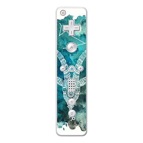 Disagu SF-sdi-3315_1250 Displayschutzfolie für Nintendo Wii Controller Design - Motiv Sternzeichen - Steinbock Klar