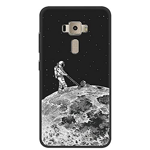 [HLKRK] Funda para ASUS Zenfone 3 ZE552KL Funda TPU Escudo Protector Case Cover 6