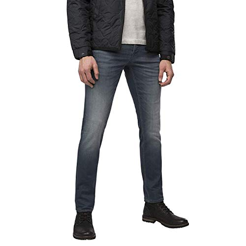 PME Legend Herren Jeans Skyhawk mittel grau blau - 36/34